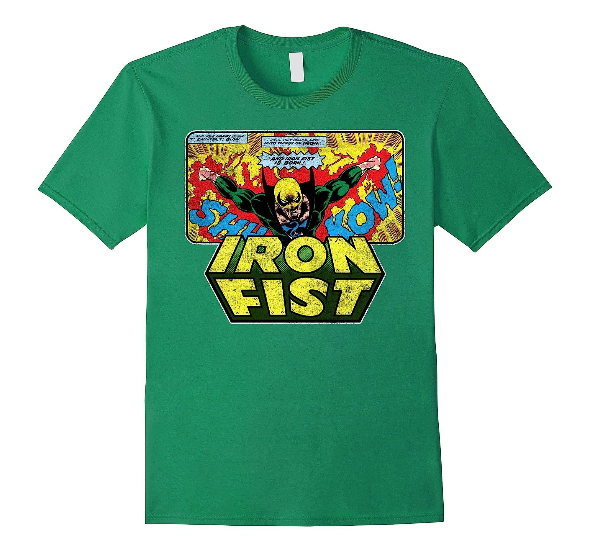 Iron Fist Born Graphic T Shirt