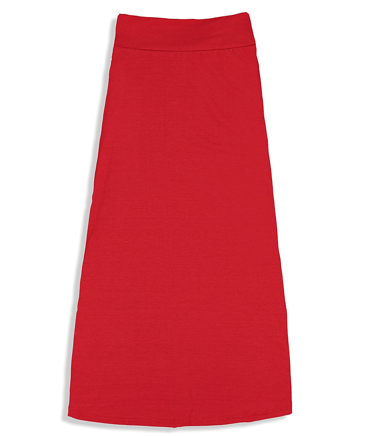Great for Uniform Free to Live Girls 7-16 Years Old Maxi Skirts