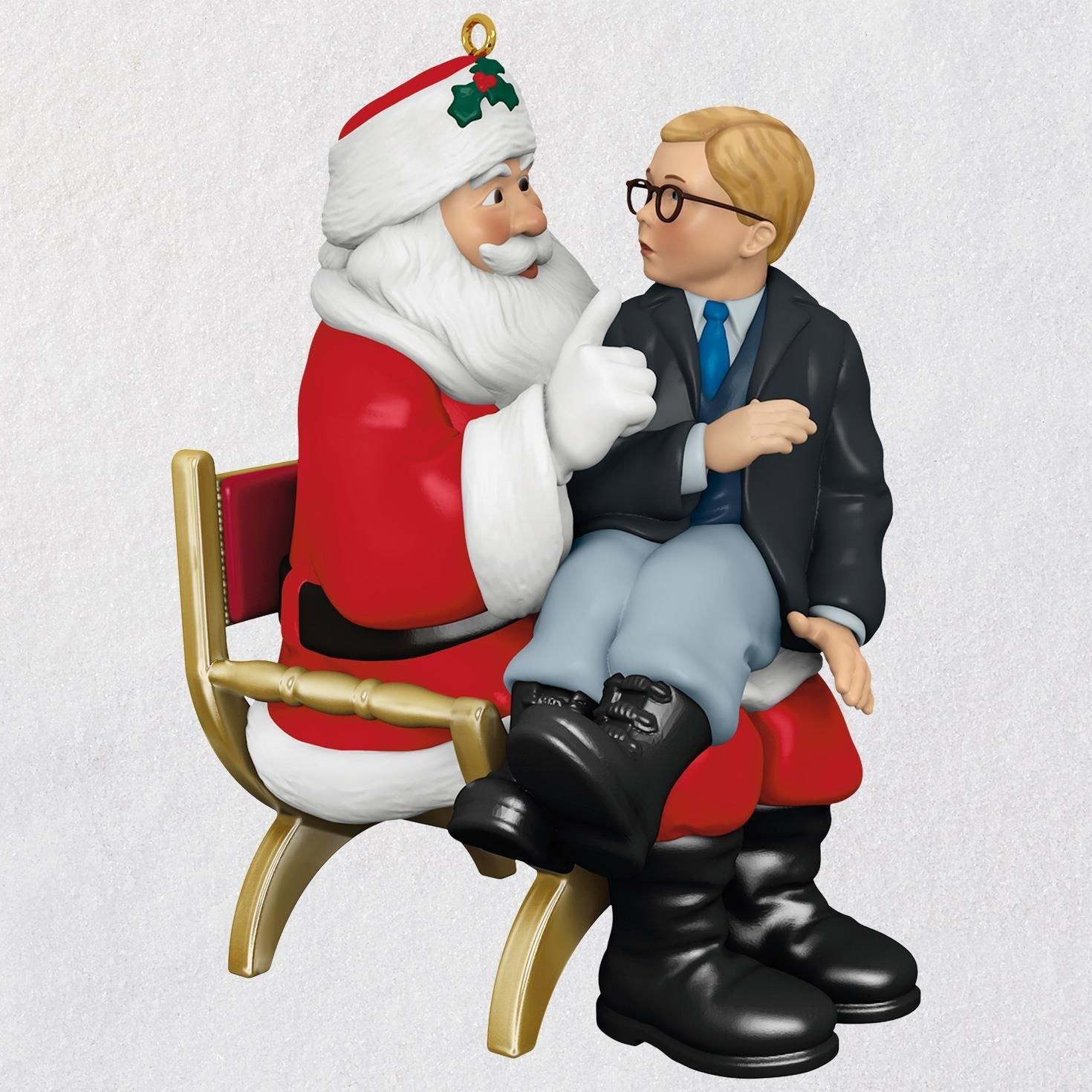 Hallmark A Christmas Story Ho! Ho! Ho! Ornament With Sound keepsake-ornaments Movies & TV,Santa Claus