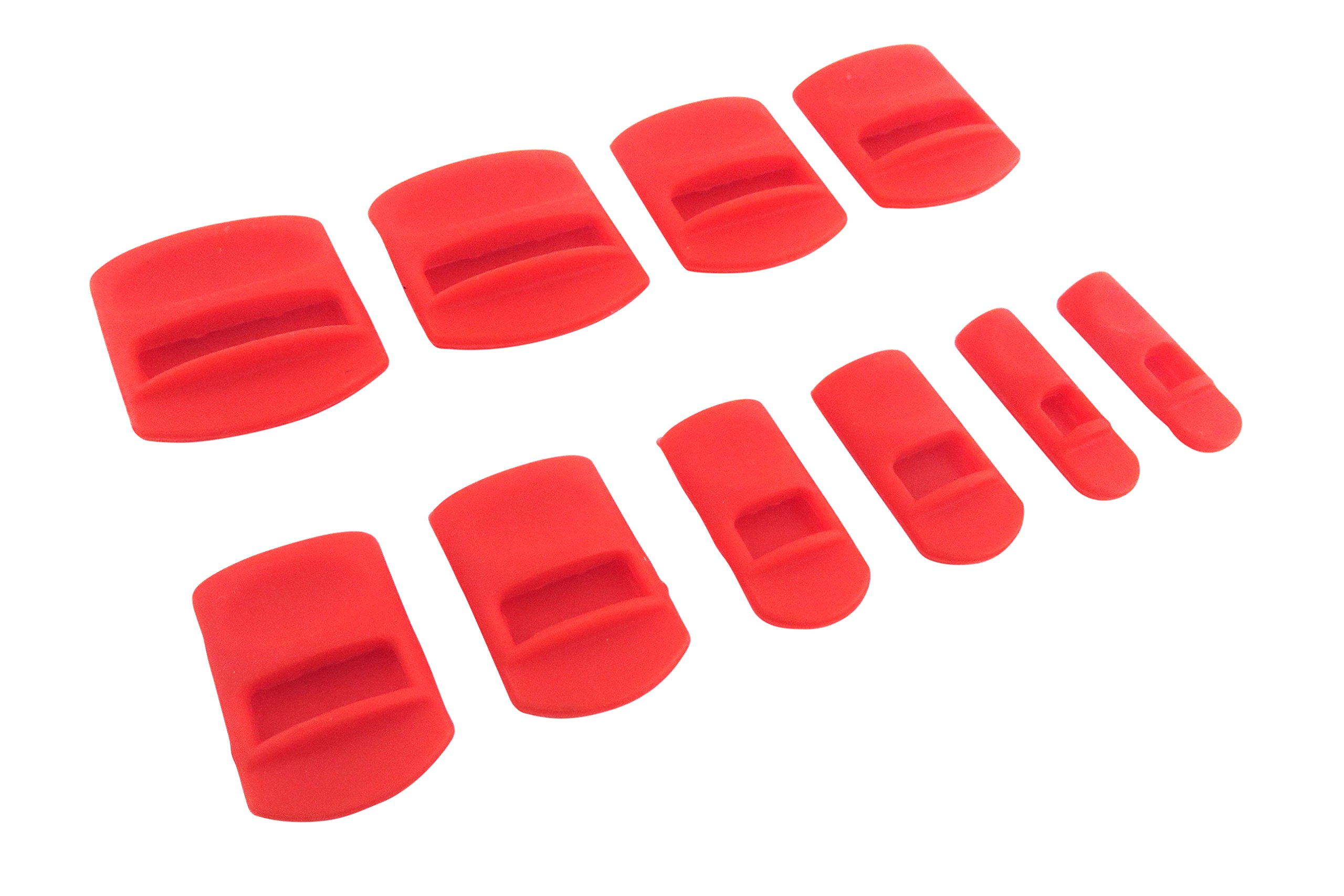 """Taytools 101202 10 Piece Soft Silicone Chisel Edge Guard Set for Chisels 1/8"""" to 1-1/4"""""""