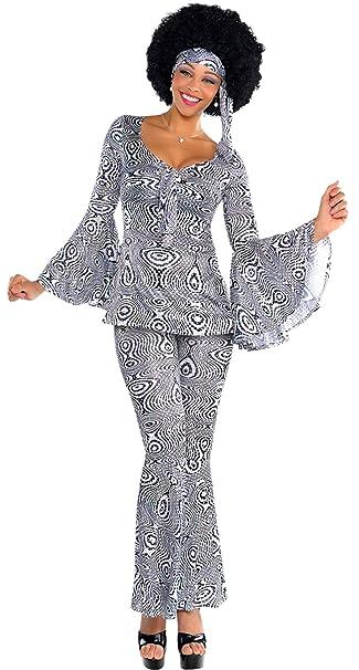 Luxuspiraten Damen Kostum Set 60er Jahre Kleid Hose Haarband