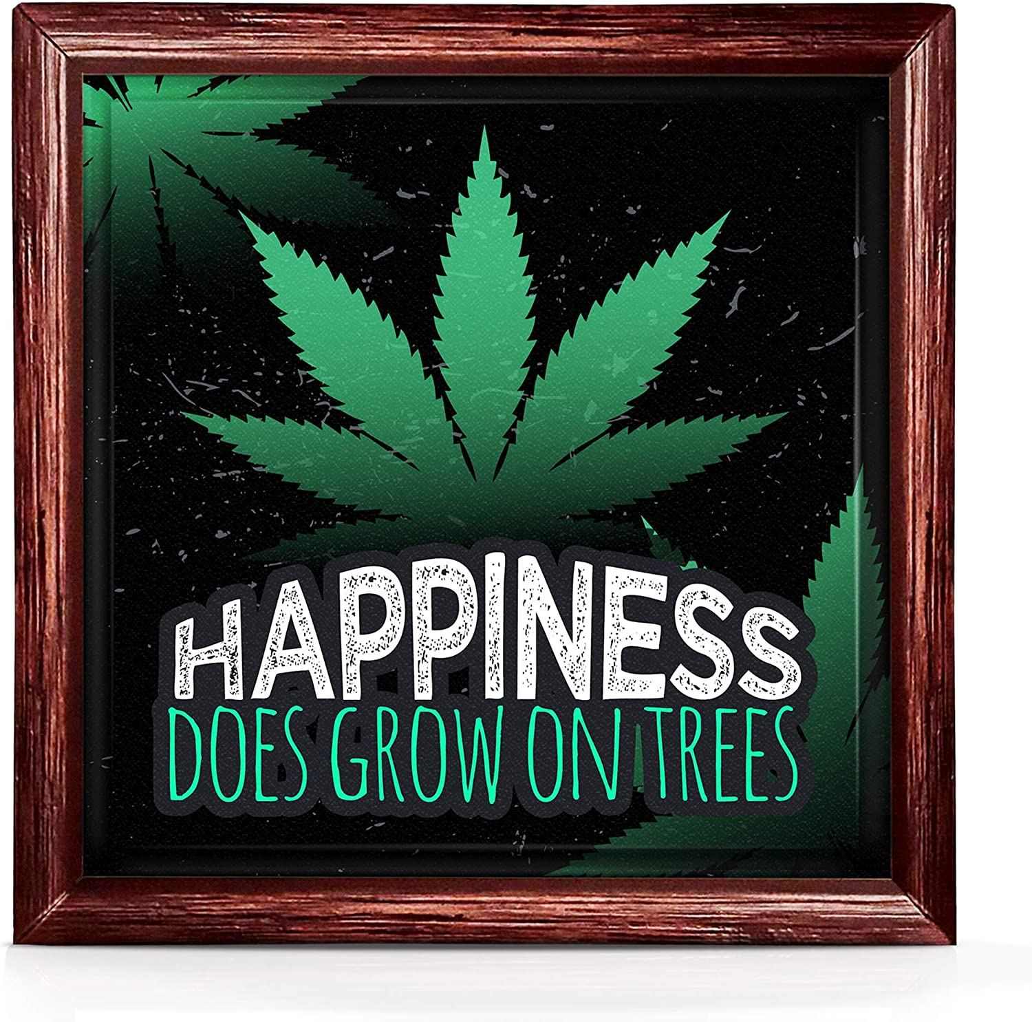 Stoner Room Decor | Weed Decoration Gift | Trippy Ceramic Decor for Stoner | Marijuana Decorations | Weed Art for Room | Mary Jane Art | Weed Posters | Gifts for Weed Smokers | Man Cave Decoration
