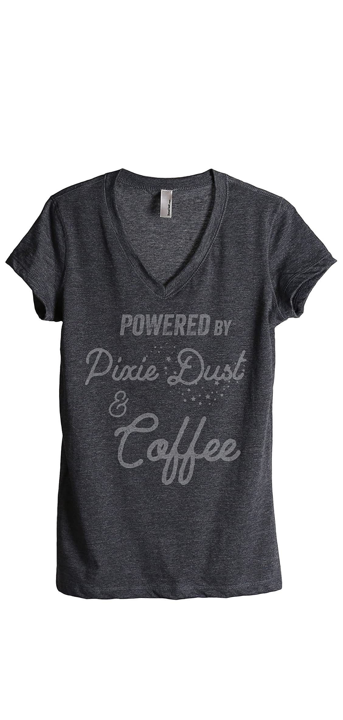 Powered By Pixie Dust And Coffee Women's Relaxed Tee