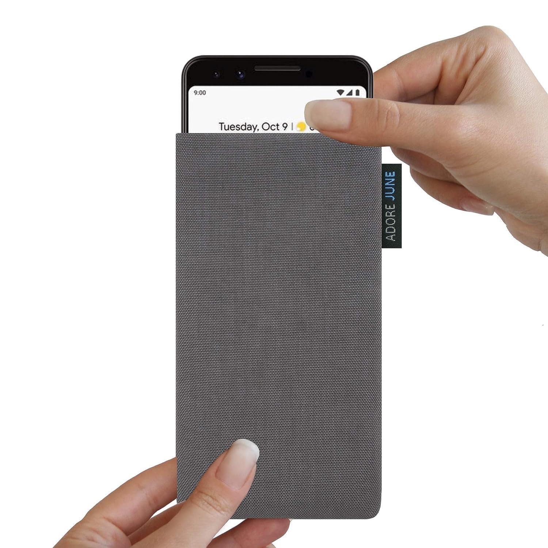 Adore June Classic /Étui de Protection pour Google Pixel 3 en Tissu Cordura r/ésistant et Durable avec Effet de Nettoyage fabriqu/é en Europe