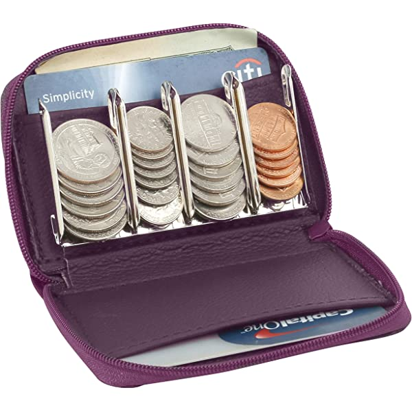 Effectivo 10575 Wallet with Coin Dispenser and Belt Black