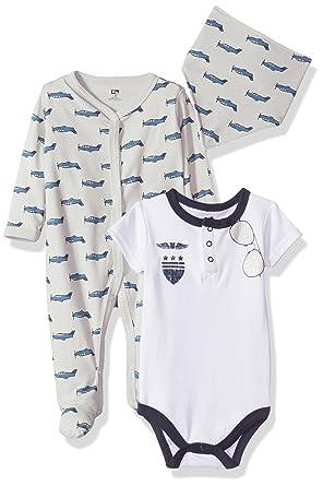 Amazon Com Hudson Baby Baby Sleep And Play Bodysuit And Bandana