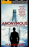 Anonymous: A novel (English Edition)
