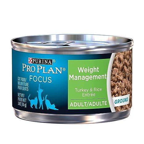 Purina Pro Plan - Alimentos mojados para gatos, para adultos, para gestión de pesas