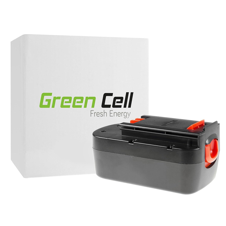verde Cell Utensili Elettrici Batteria per nero & Decker EPC18CAK (Ni-MH celle 3 Ah 18V)
