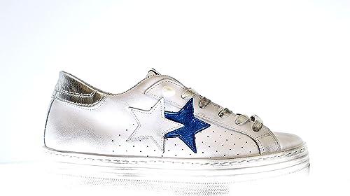 2*Star 2SD2642 Sneakers in Pelle da Donna: Amazon.it: Scarpe