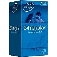LifeStyles Regular Condom, (Pack of 24)