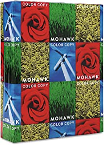 Mohawk 54301 Copier 100% Recycled Paper, 94 Brightness, 28lb 8-1/2x11, PC White, 500 Sheets