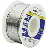 Whizzotech Solder Wire 60/40 Tin/Lead Sn60Pb40 with Flux Rosin Core for Electrical Soldering 100g/4oz Diameter 0.032 Inch