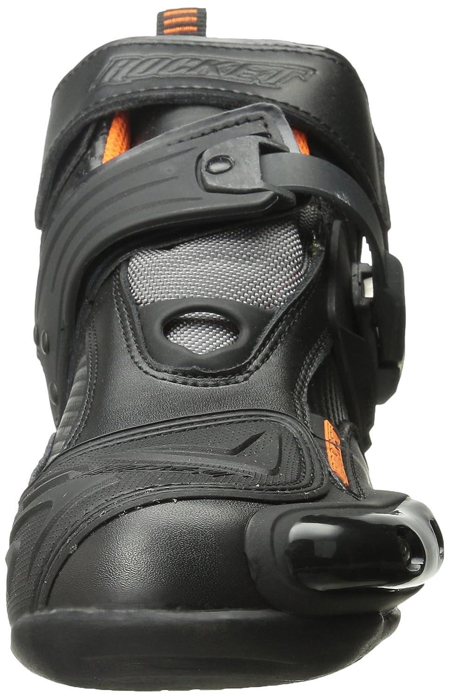 Black//Orange, Size 12 Joe Rocket Atomic Mens Boots