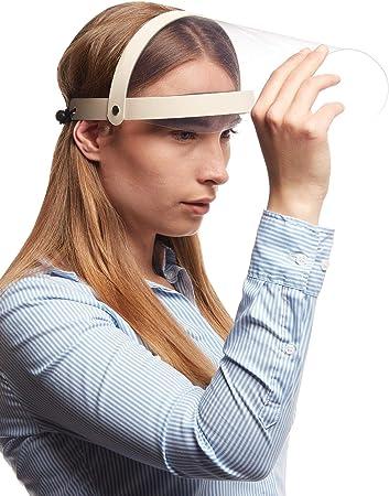 Augenschutz Spuckschutz Gesichtsschutz- Spritzschutz mit Klarvisier klappbar