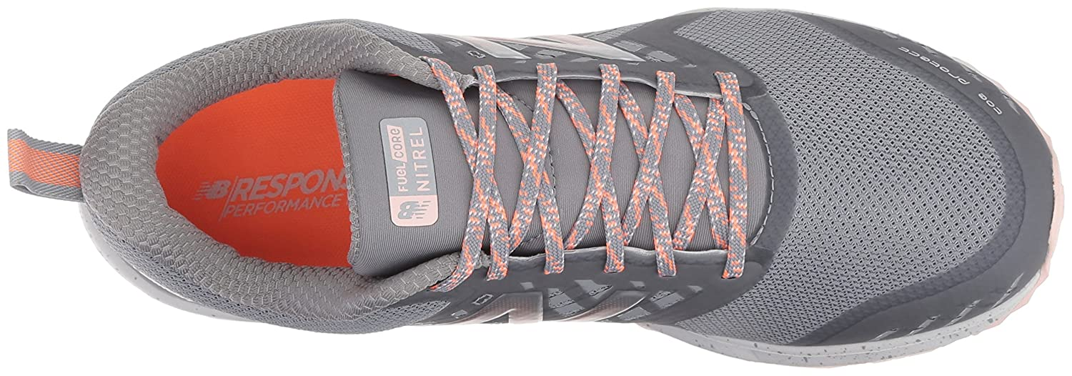 New Balance Trail Women's Nitrel v1 FuelCore Trail Balance Running Shoe B072JTQK8P 7.5 D US|Grey 483f8f