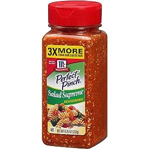 McCormick Perfect Pinch Salad Supreme Seasoning, 8.25 oz