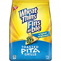 WHEAT THINS Toasted Pita Original Crackers 226, Pack of 6