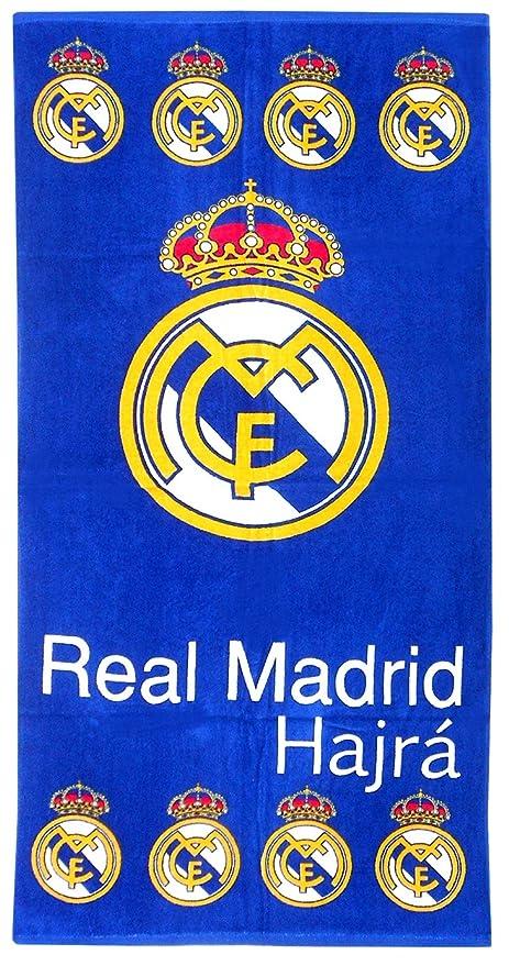 100% oficial FC Real Madrid Toallas de playa Baño Gimnasio Natación de | Ronaldo Bale