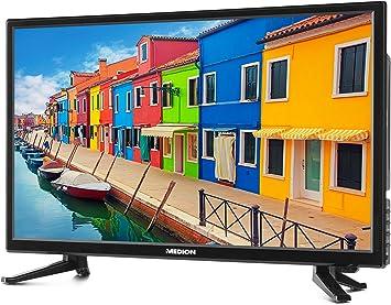 Medion p12310 54,6 cm (21,5 Pulgadas Full HD) televisor (sintonizador Triple, DVB-T2 HD, Reproductor de DVD, Reproductor Multimedia, HDMI, Ci +, USB): Amazon.es: Electrónica