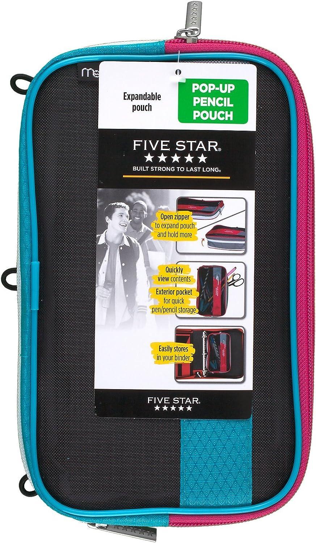 Blue 50218 Mead Five Star Expandable Pop-Up Pouch//Case