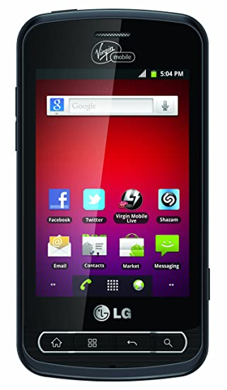 amazon com lg optimus slider prepaid android phone virgin mobile rh amazon com Straight Talk LG Optimus Zip Straight Talk LG Optimus Zip