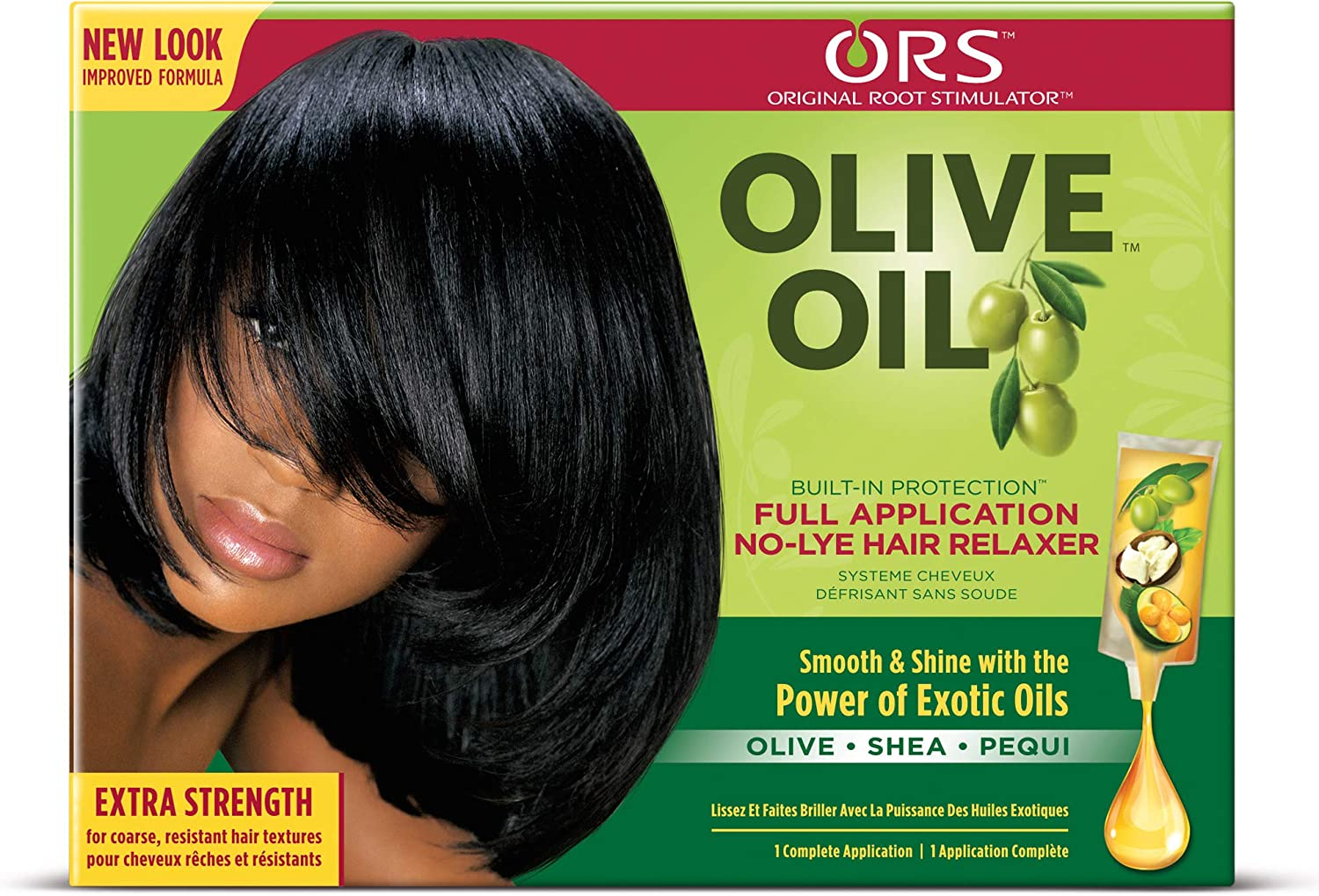 Ors Olive Oil Extra Strength Hair Relaxer Amazon Co Uk Beauty