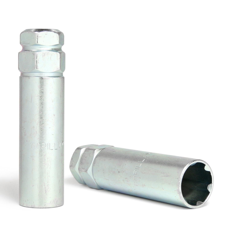 14mm x 1.50 Thread Size Gorilla Automotive 26143HT Small Diameter Duplex Acorn Chrome 5 Lug Kit Pack of 20