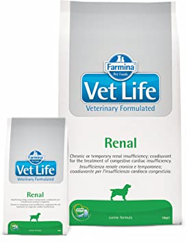 Vet Life renal Dog, 1er Pack (1 x 12 kg): Amazon.es: Productos para mascotas