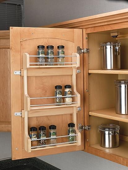 Rev A Shelf   4SR 18   Medium Cabinet Door Mount Wood 3