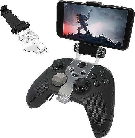 ADZ - Soporte para mando de Xbox o Xbox One, soporte para teléfono para mando Xbox One, compatible con Microsoft Project Xcloud y Xbox Console Streaming compatible con Xbox One Controller inalámbrico: