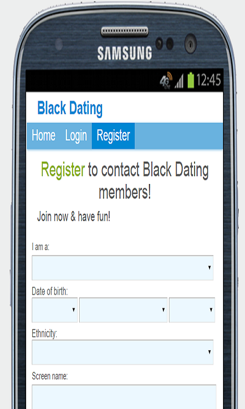 black book dating app