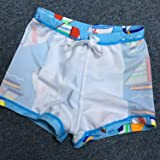 6 Pcs Boys' Swimwear Sets Swim Trunks,Swim