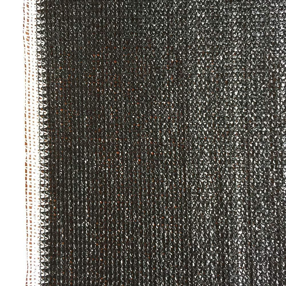 遮光ネット 黒95%紫外線耐性シェード布、屋外裏庭ガーデン植物納屋温室のための日焼け止めサンシェード生地ロール (Size : 2x100m(6.5 ftx328ft)) B07TVCV8TH  2x100m(6.5 ftx328ft)
