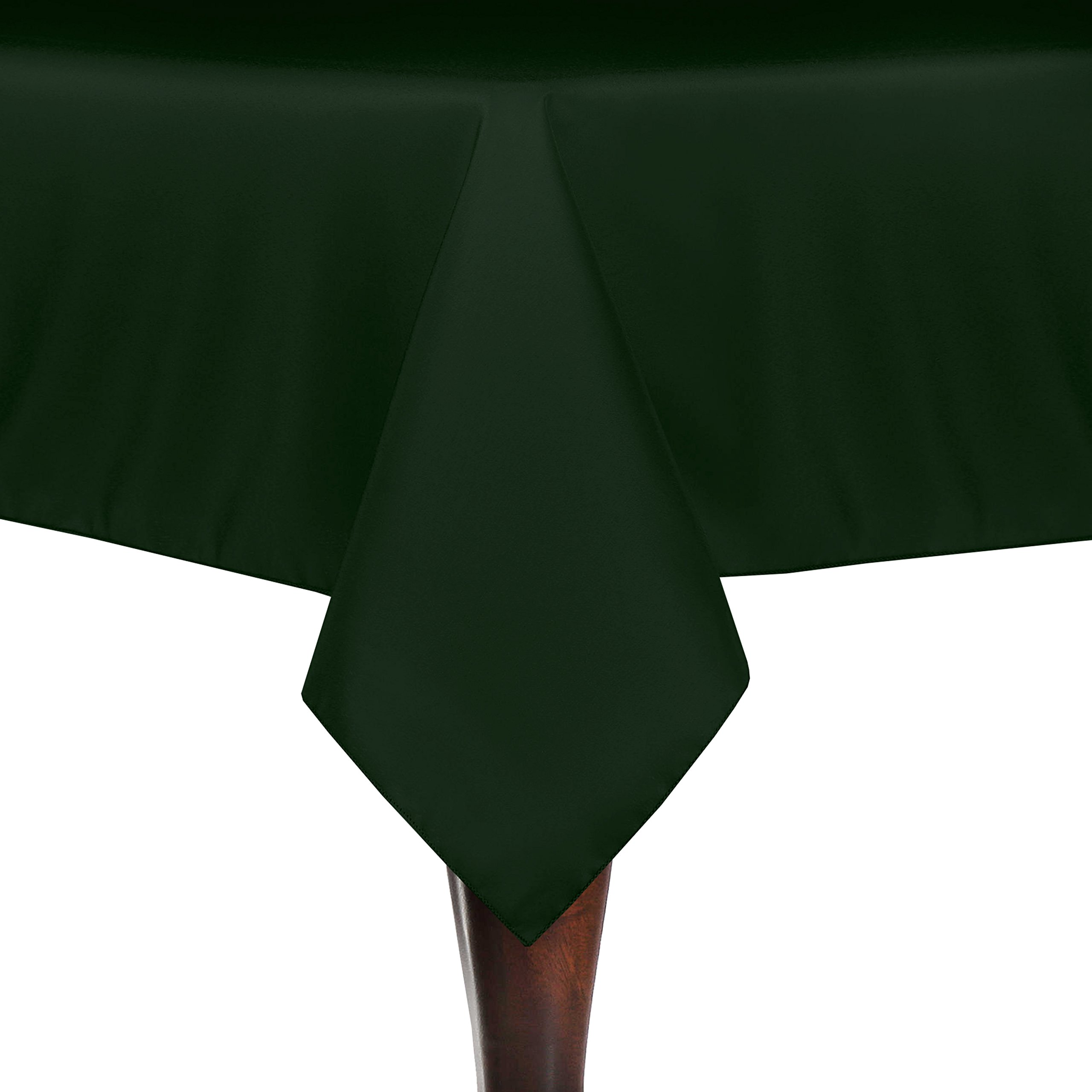 Ultimate Textile (10 Pack) 60 x 84-Inch Rectangle Tablecloth - for Wedding, Restaurant or Banquet use, Hunter Green