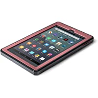 Nupro Heavy Duty Shock-Proof Standing Cover with Screen Protector For Fire 7 Tablet, Plum