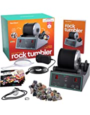5b15cf857f Advanced Professional Rock Tumbler Kit - with Digital 9-day timer and  3-speed