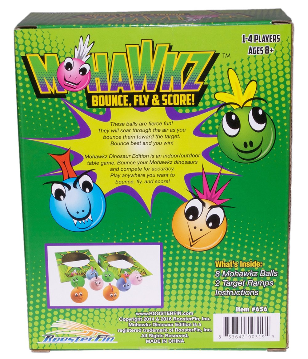 Amazon.com: Familia de mohawkz Dinosaur Board Game – Fun ...