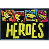Amazon.com: Teenage Mutant Ninja Turtles Team Turtles Rug ...