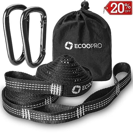 hammock straps    bined 24 ft long  40 loops   2 carabiners 100  amazon    hammock straps    bined 24 ft long  40 loops   2      rh   amazon