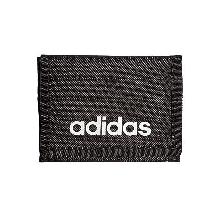 adidas - Linear Core, Carteras Unisex Adulto, Negro (Black/Black/White), 1x9x12.5 cm (W x HL)