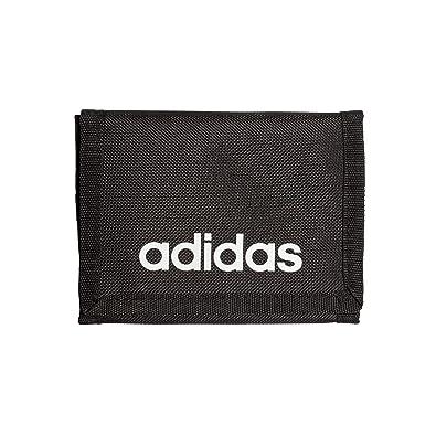 adidas - Linear Core, Carteras Unisex adulto, Negro (Black/Black/White