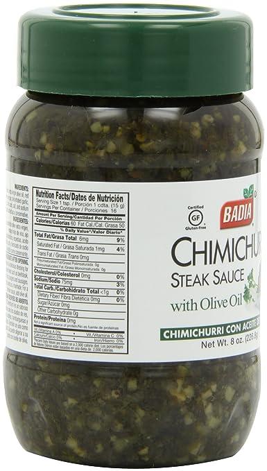 Amazon.com : Badia Spice Chimichurri, 8-Ounce (Pack of 6 ...