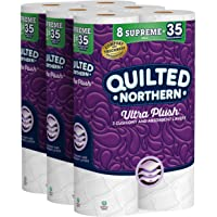 Quilted Northern Ultra Plush, 24 Supreme (90 Regular) Rolls Toilet Paper
