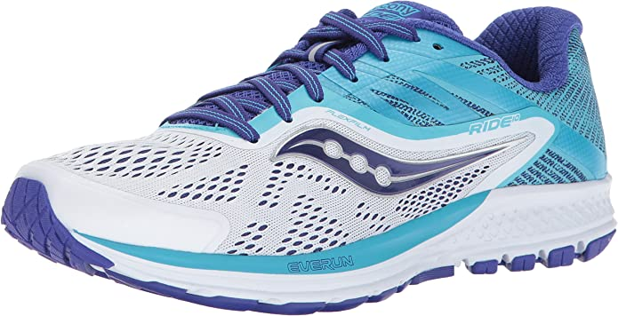 Saucony Women's Ride 10 Running Shoe review