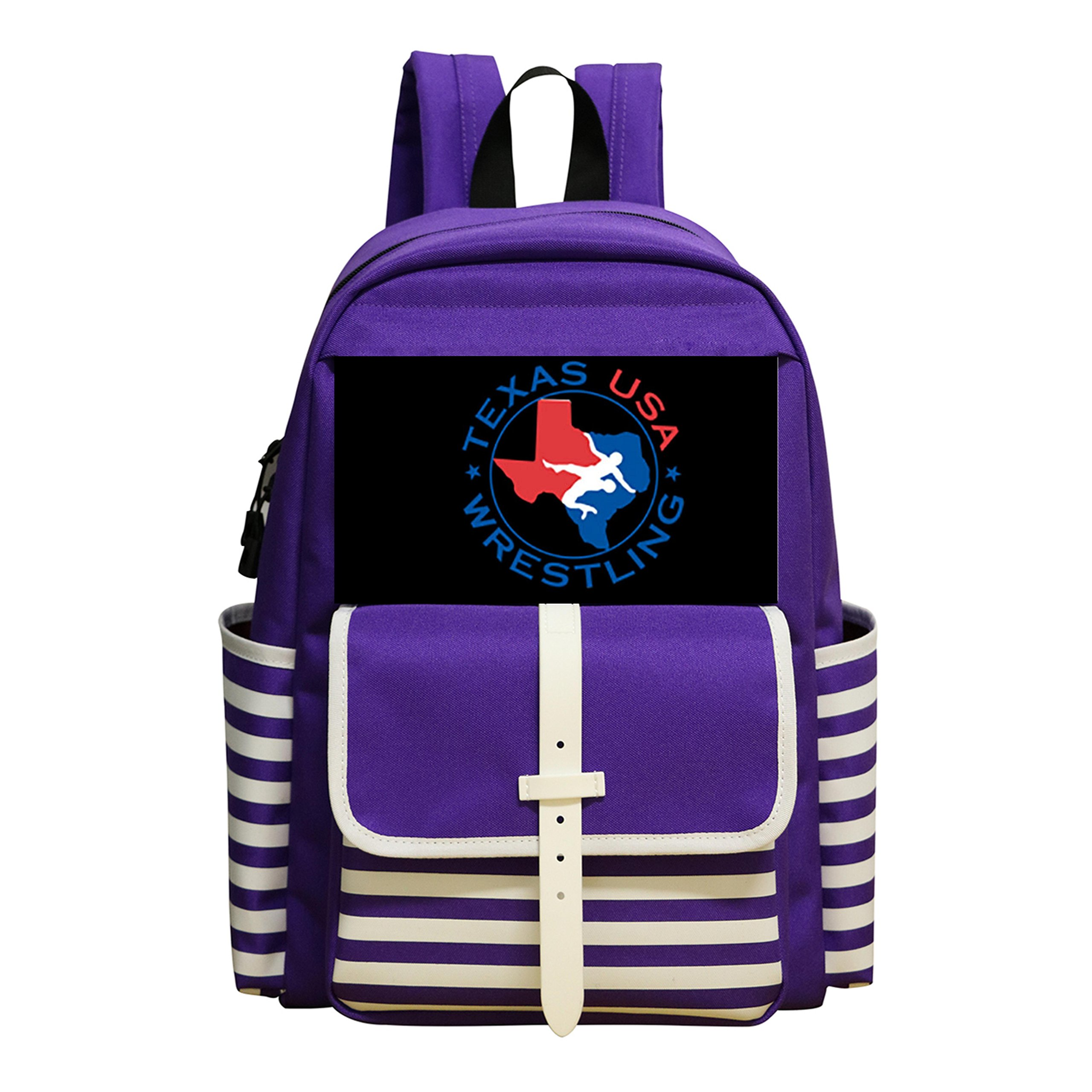 Fashion Student Backpack USA Wrestling Boys&Girls School Bag