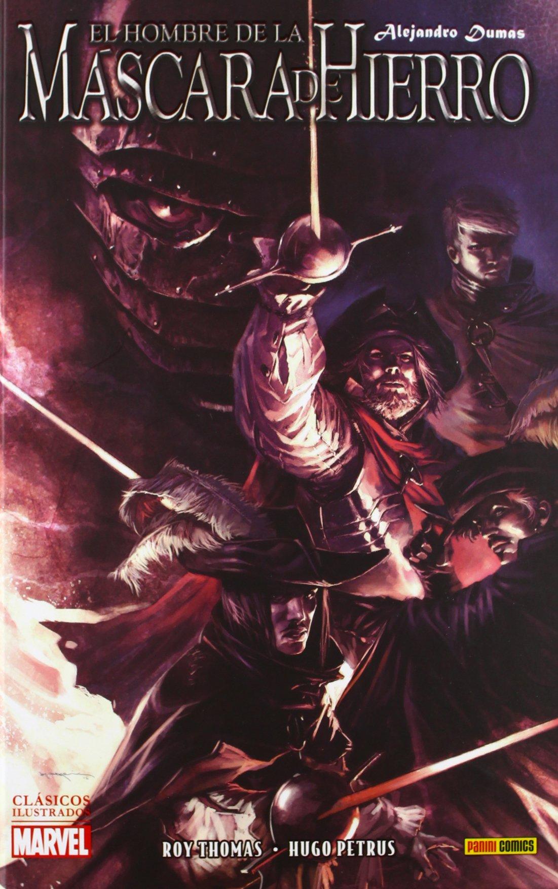 El Hombre De La Máscara De Hierro De Alejandro Dumas: Amazon.es: Roy Thomas; Hugo Petrus: Libros