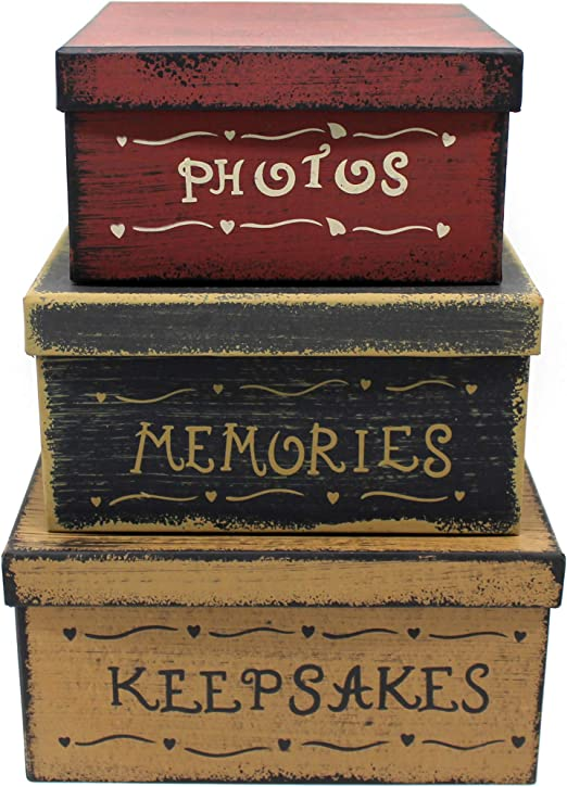 Keepsakes & Memory Boxes