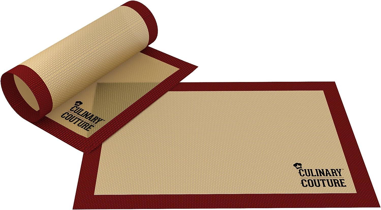 non-stick, silicone baking mats