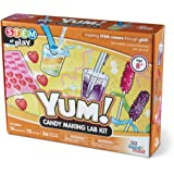 hand2mind YUM! Candy Making Science Kit For Kids (Ages 8+) - Build 16 STEM Chemistry Experiments and Activity Set   Make…
